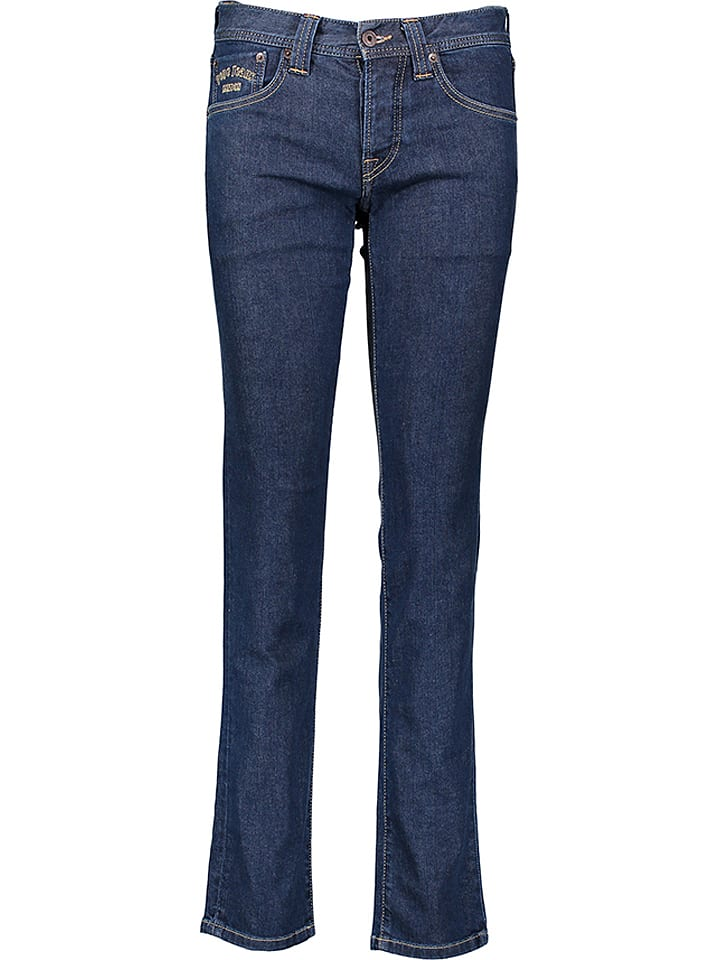 """Pepe Jeans Dżinsy """"Cane"""" - Slim fit - w kolorze granatowym"""