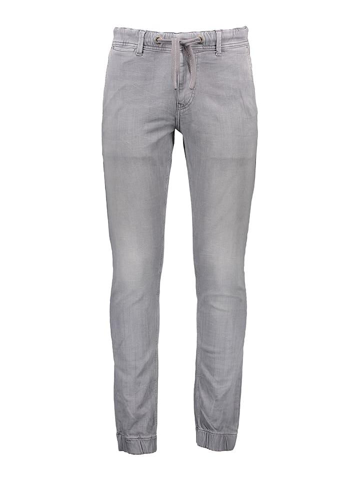 "Pepe Jeans Dżinsy ""Slack"" - Jogger - w kolorze jasnoszarym"