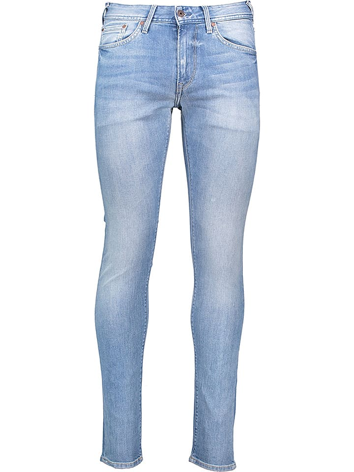"""Pepe Jeans Dżinsy """"Stanley"""" - Tapered fit - w kolorze błękitnym"""
