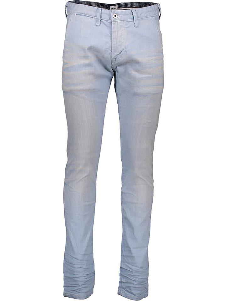"""Pepe Jeans Dżinsy """"James"""" - Slim fit - w kolorze błękitnym"""
