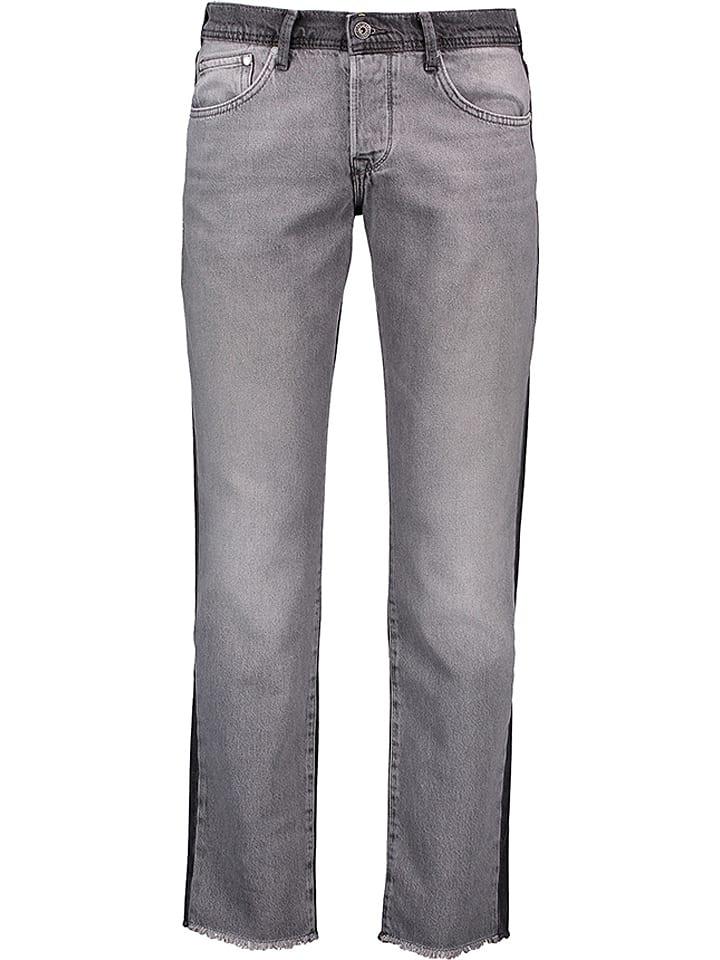 """Pepe Jeans Dżinsy """"Cane"""" - Straight fit - w kolorze szarym"""