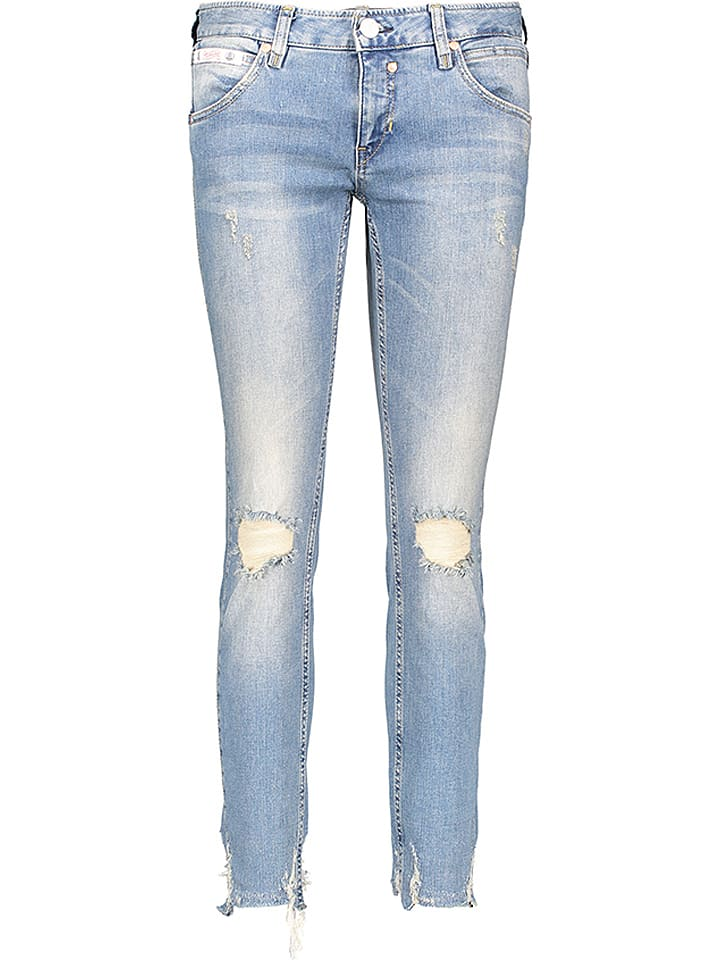 "Herrlicher Jeans ""Touch"" - Cropped fit - in Blau"