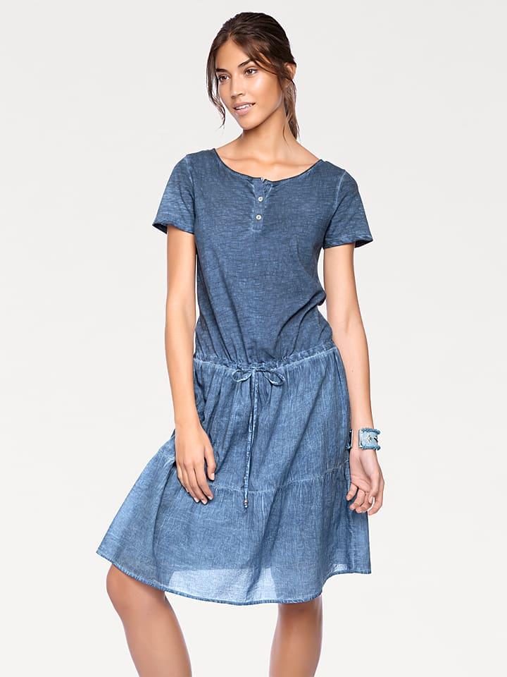Kleid blau heine