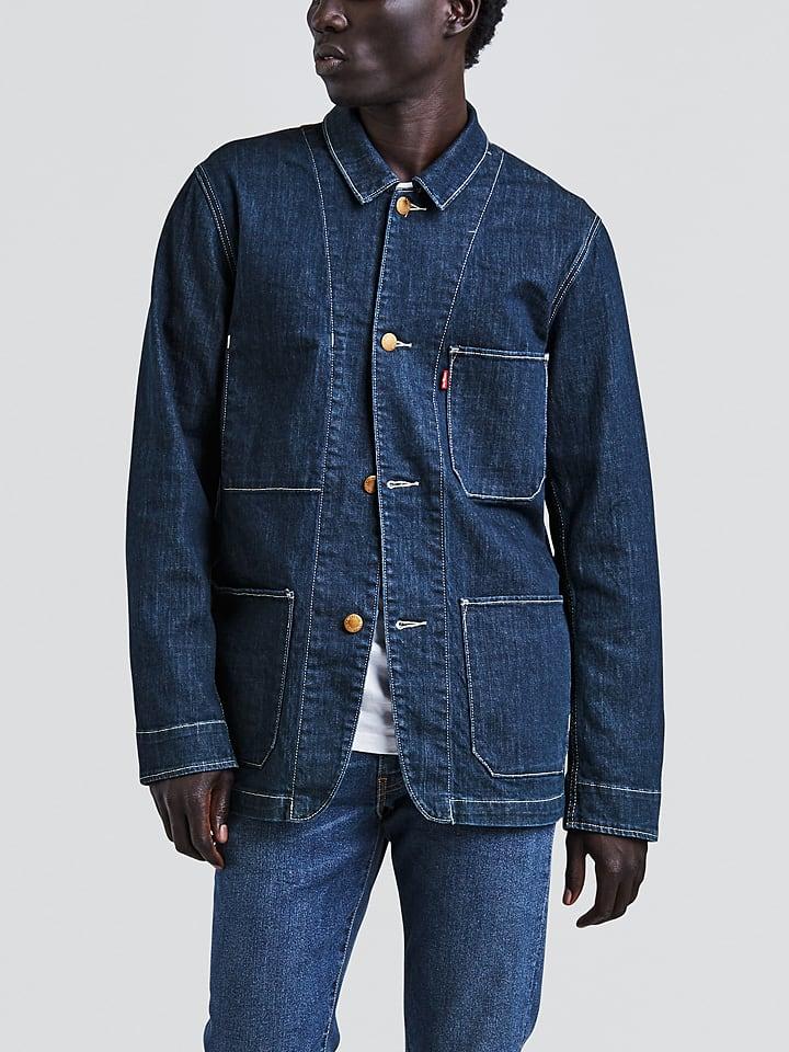 """Levi´s Spijkerjas """"Engineer's Coat"""" donkerblauw"""