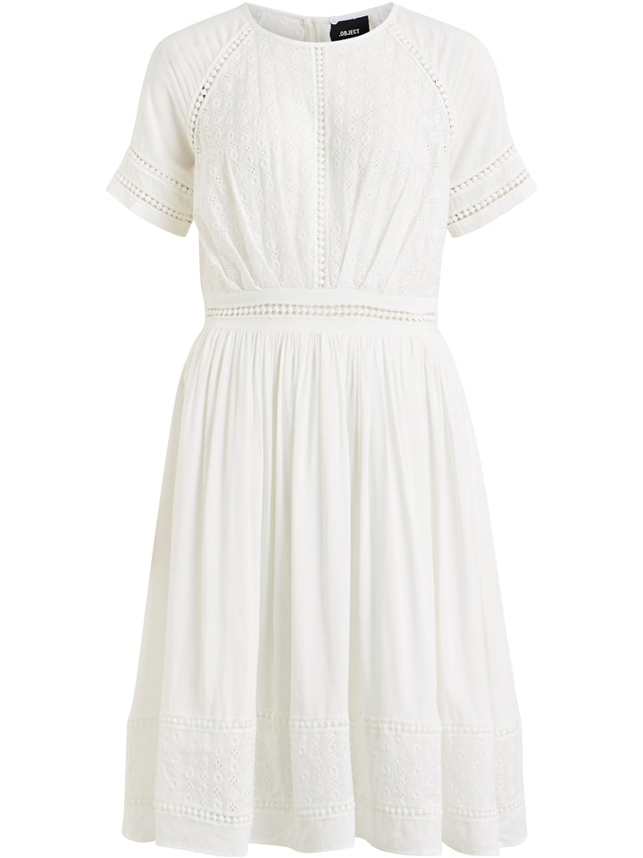 Object Sukienka w kolorze białym