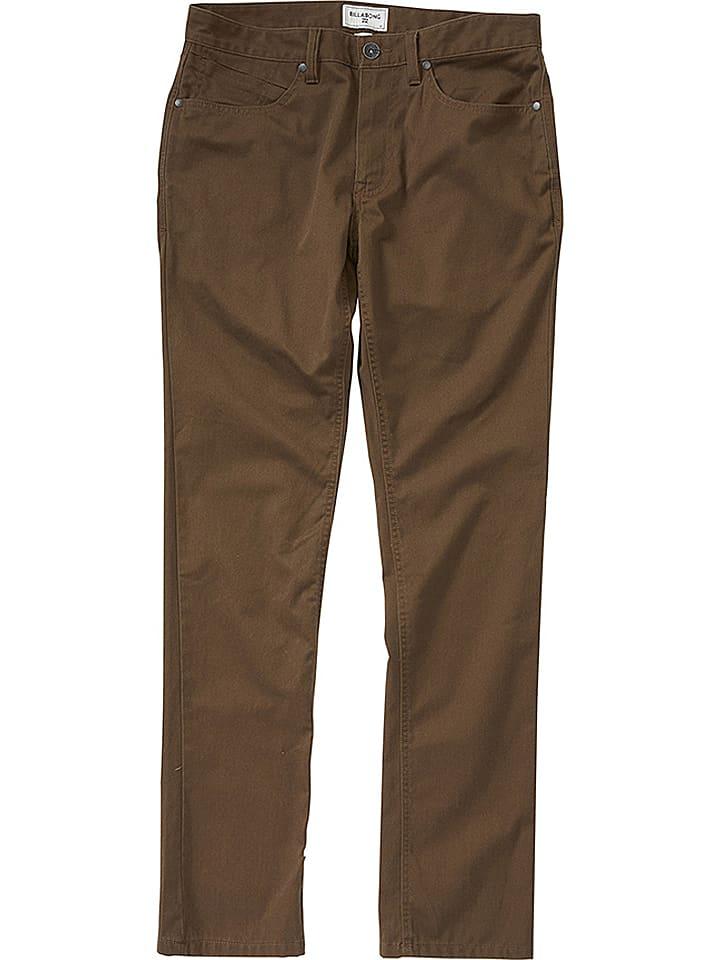 """Billabong Pantalon """"Outsider"""" - marron"""