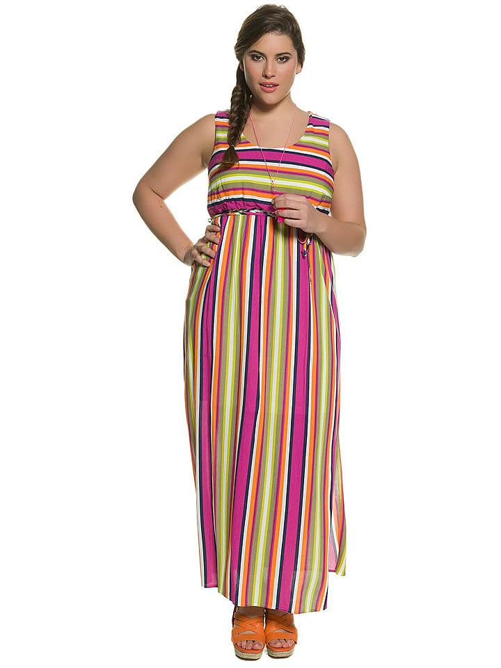 Studio Untold Sukienka z kolorowym wzorem