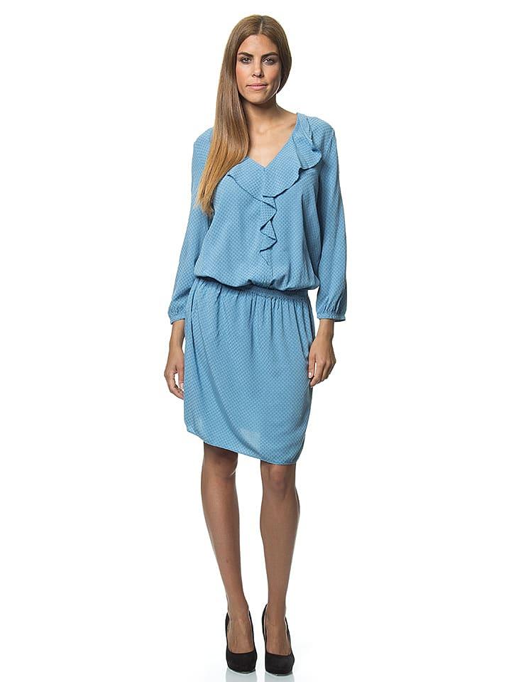 Benetton Sukienka w kolorze błękitnym