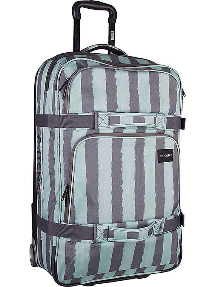 c659b6dc5a72c elegant chiemsee reisetasche premium travelbag in trkis grau b x h x t cm  limango outlet with chiemsee reisetasche