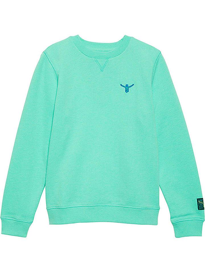 """Chiemsee Bluza """"Zayn"""" w kolorze jasnoróżowo-turkusowym"""