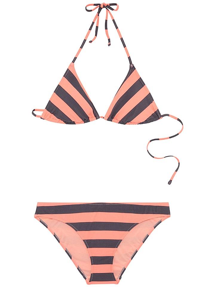 Chiemsee Bikini ´´Lana´´ in Anthrazit - 65% | Größe XS | Damen outdoor bademode