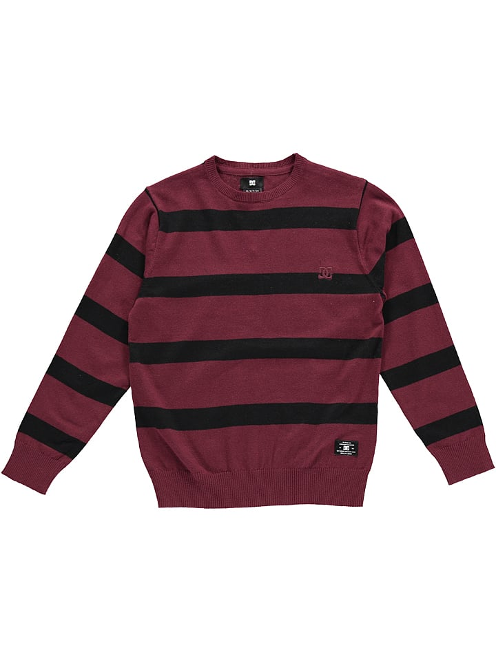 DC Shoes Bluza w kolorze czerwono-czarnym