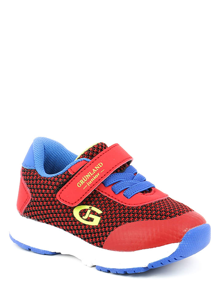 fe640fb98873ea Grünland Junior - Sneakers in Rot  Blau