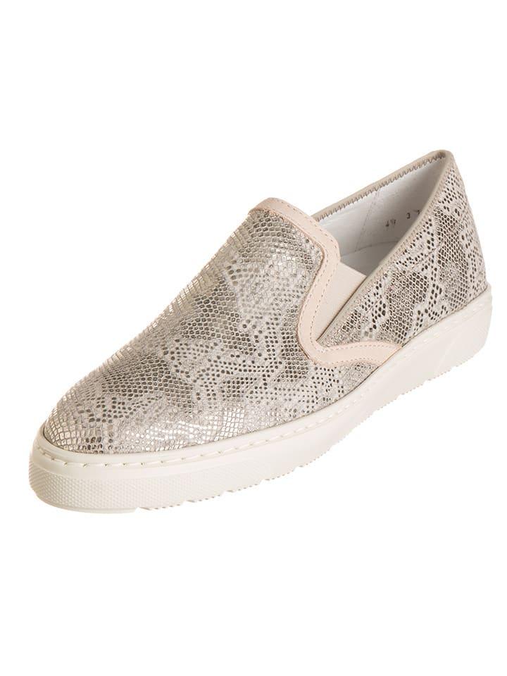 """Ara Shoes Leder-Slipper """"Toronto"""" in Beige"""