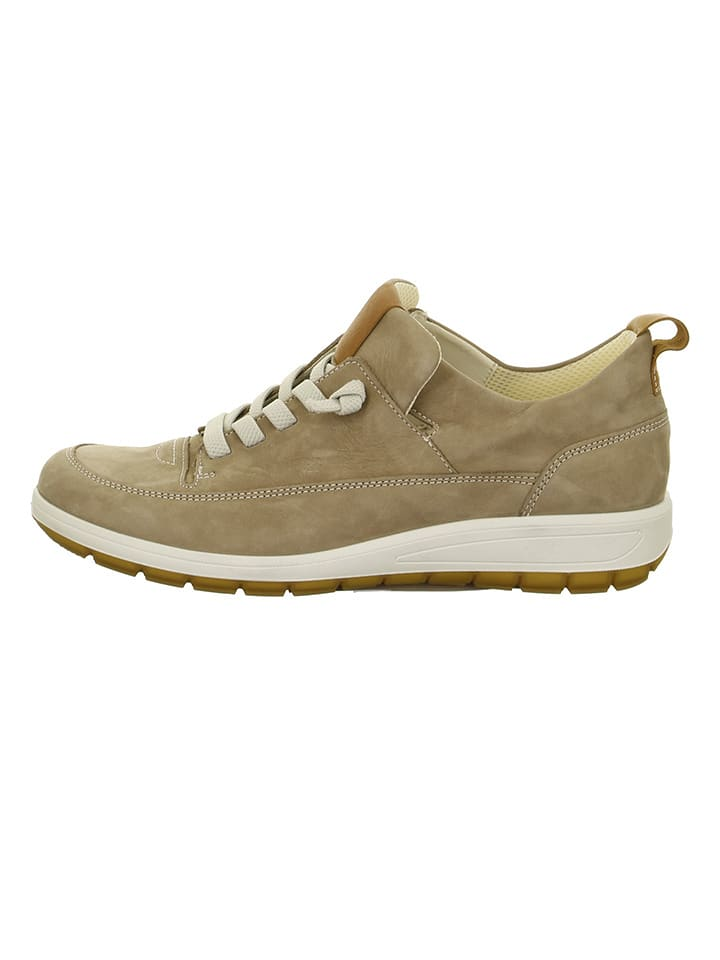 "Ara Shoes Leder-Sneakers ""Tokio"" in Khaki"