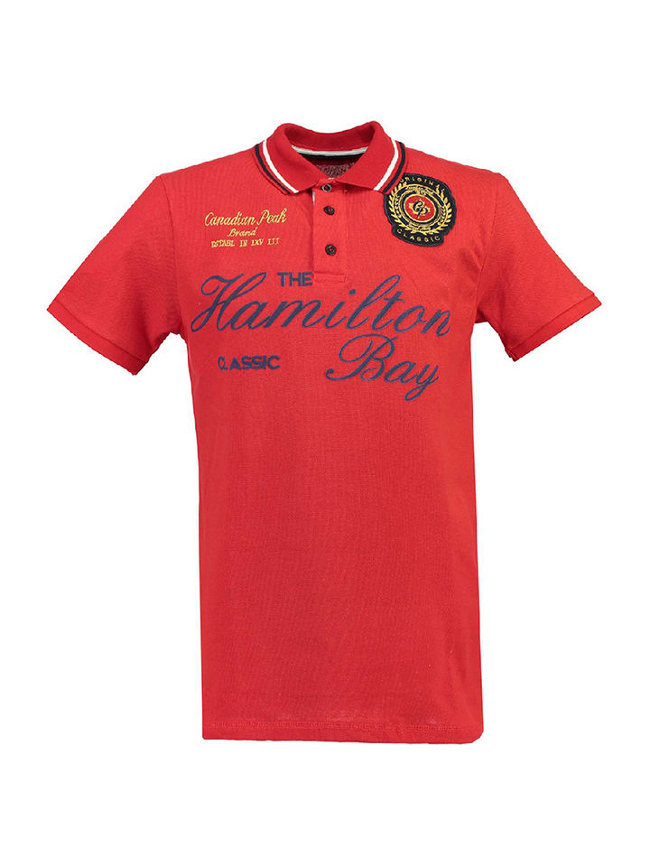 "Canadian Peak Polo ""Kamilton"" - rouge"