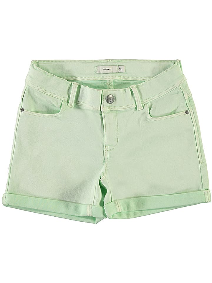 "Name it Shorts ""Salli"" in Türkis"