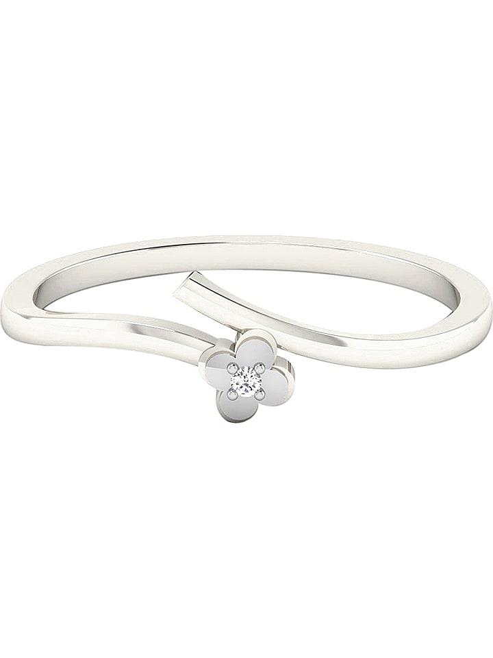 Art of Diamond Weißgold-Ring mit Diamant