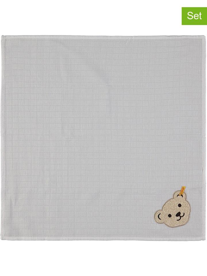 Steiff Chusty (3 szt.) w kolorze białym do odbijania