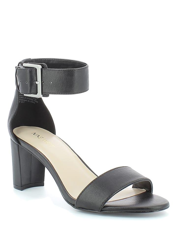 f994a63c30ba9 Sandały w kolorze czarnym - Nine West - Wyprzedaż w Outlet Limango