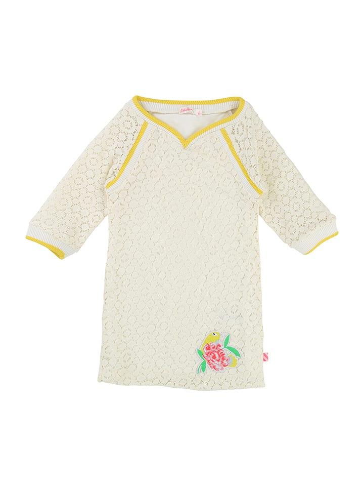 Billieblush Kleid in Creme/ Gold