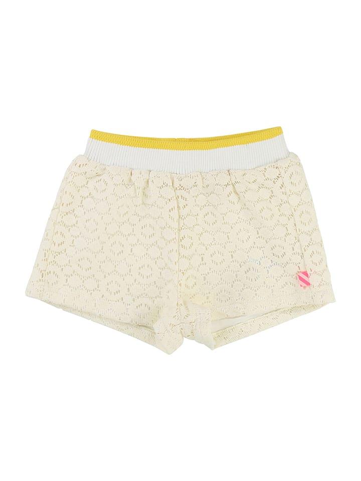 Billieblush Shorts in Creme/ Gold