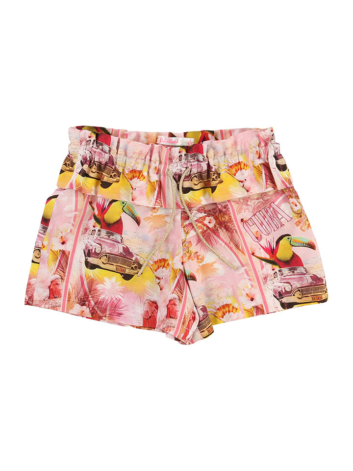 Billieblush Shorts in Rosa/ Bunt