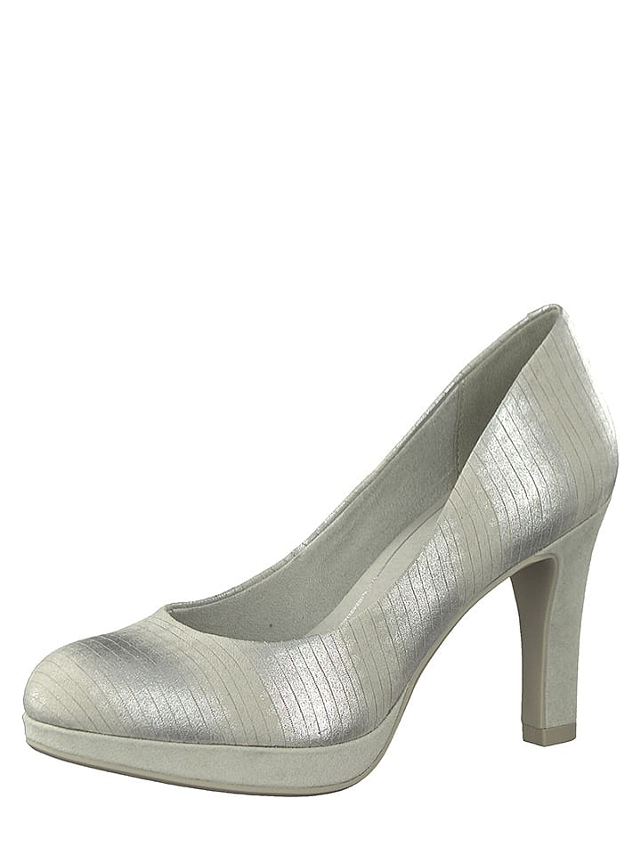 Marco Tozzi Pumps in Silber