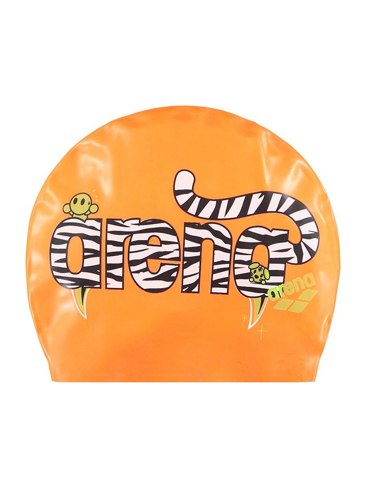 Arena Czepek w kolorze pomarańczowym do pływania