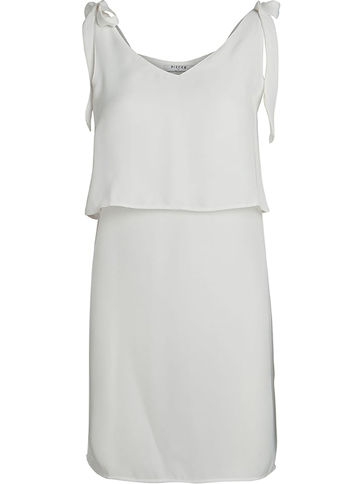Pieces Sukienka w kolorze białym