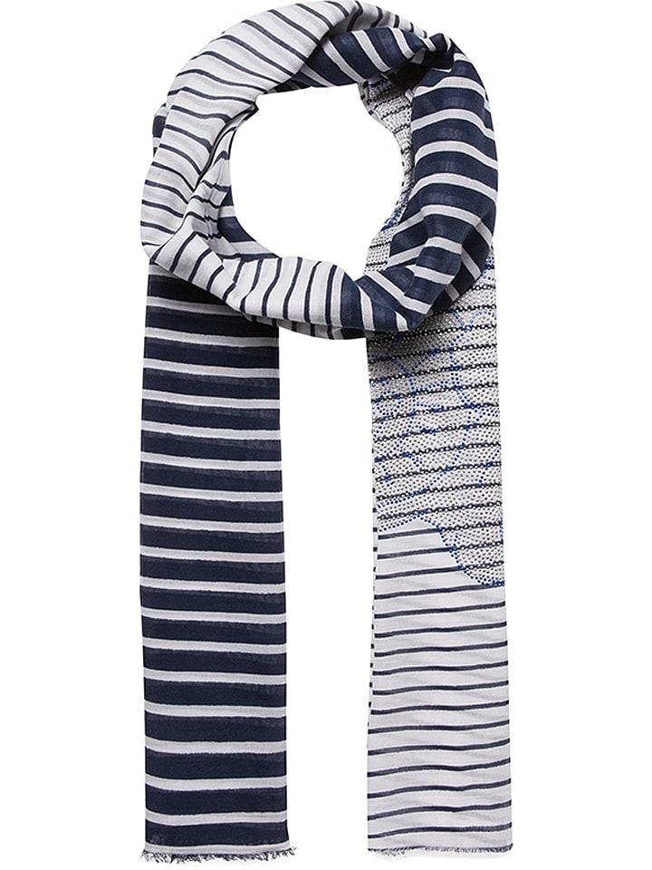 Codello Szal w kolorze niebiesko-szarym - 190 x 70 cm