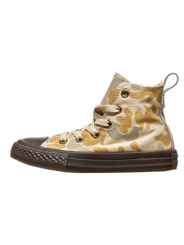 "Converse Sneakersy ""Ctas Hi"" w kolorze beżowym"
