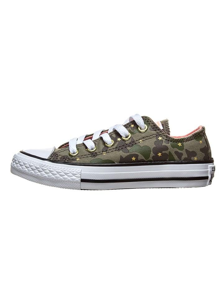 "Converse Sneakers ""Ctas Ox"" in Khaki"
