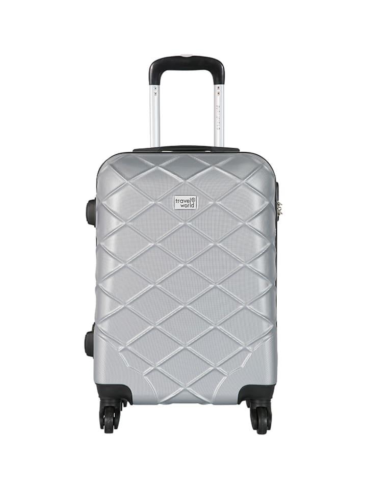 Travel World Walizka w kolorze srebrnym - 44 l