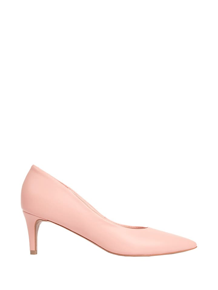 L37 Leder-Pumps in Rosa - 69% | Größe 36 | Pumps