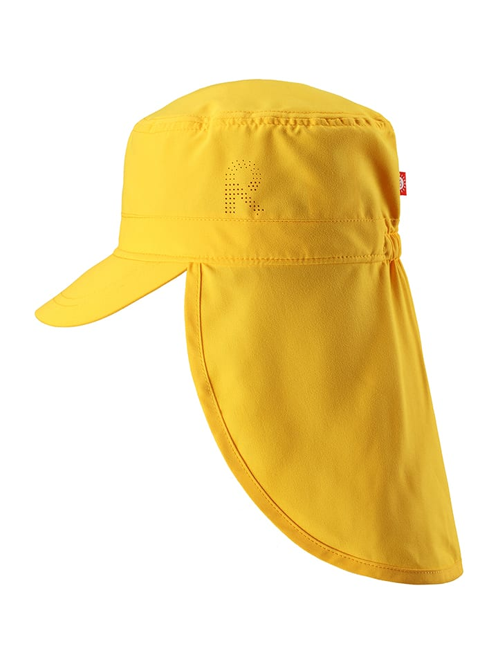 """Reima Czapka """"Aloha"""" w kolorze żółtym"""