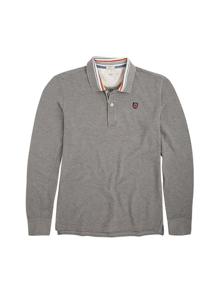 Pepe Jeans Koszulka polo w kolorze szarym