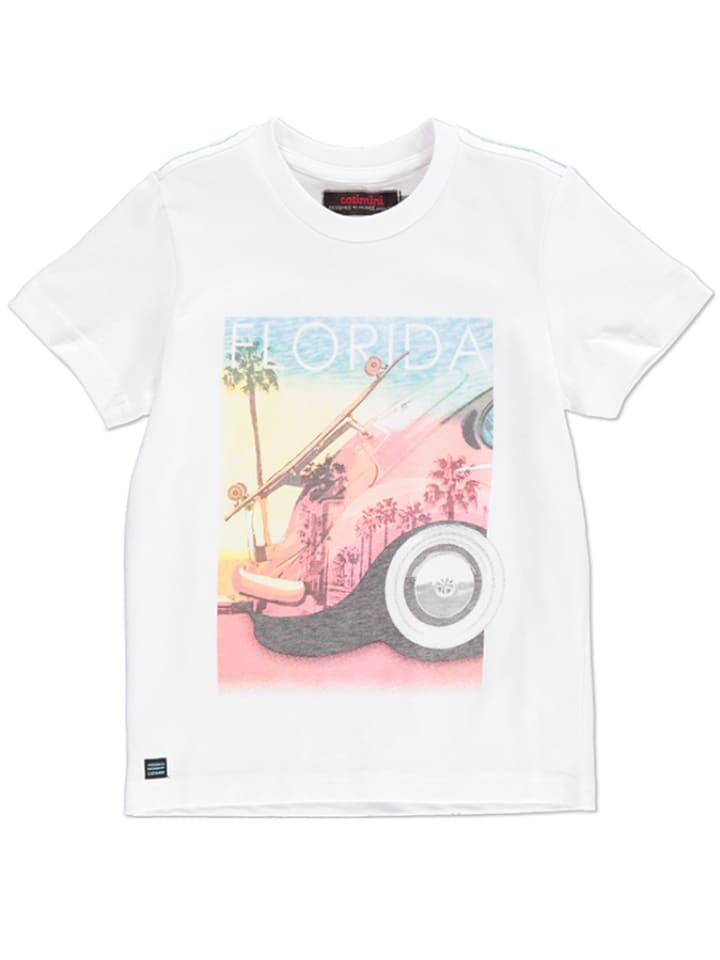 Catimini Koszulka w kolorze białym