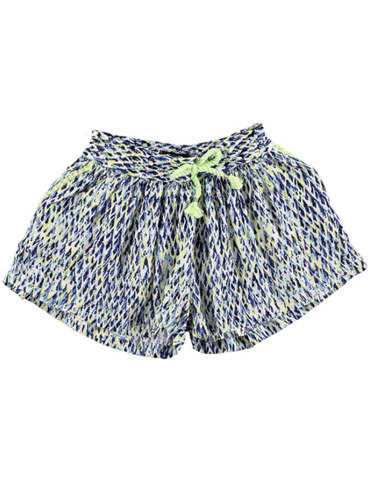 Catimini Shorts in Blau/ Gelb