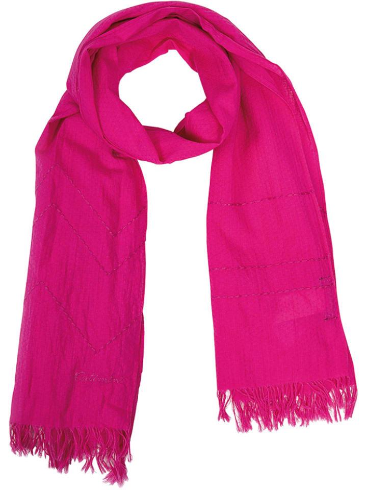 Catimini Szal w kolorze różowym - 140 x 50 cm