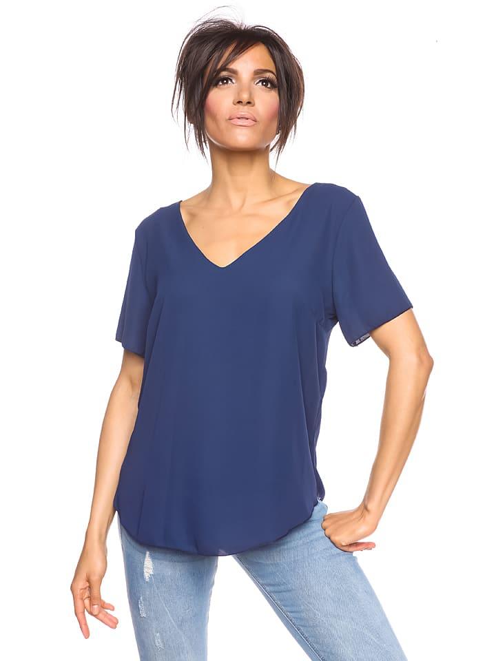 """Scarlet Jones Koszulka """"Sicilia"""" w kolorze niebieskim"""