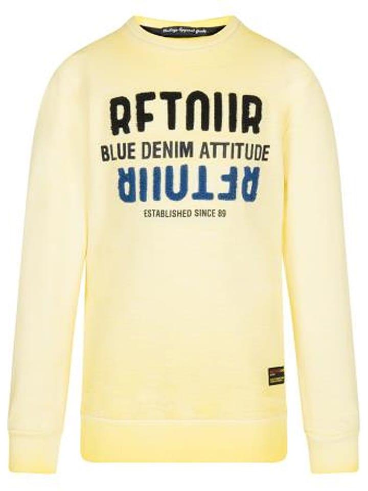 Retour Sweatshirt geel