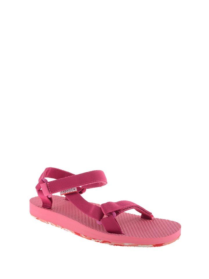 f5ab020b92a3 Sandały w kolorze różowym - BIG STAR - Wyprzedaż w Outlet Limango