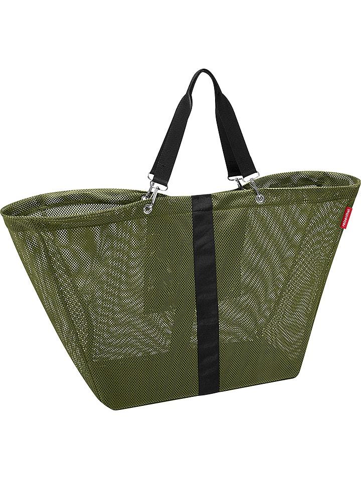 "Reisenthel Shopper bag ""Meshbag Cactus XL"" w kolorze khaki - 70 x 45 x 20 cm"