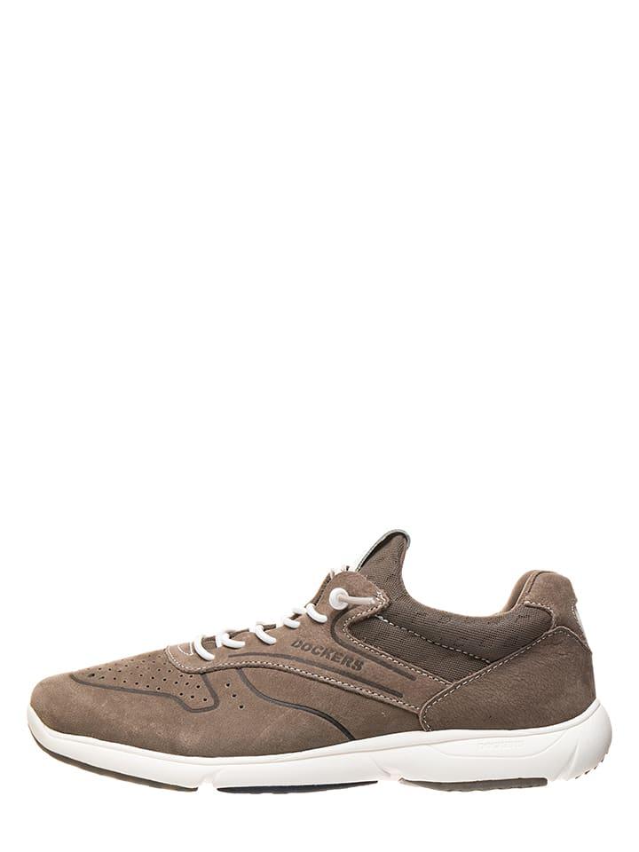 Dockers by Gerli Leder-Sneakers in Grau