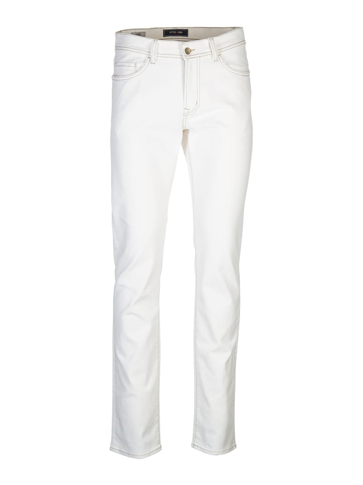 "Otto Kern Jeans ""John"" - Straight fit - in Creme"
