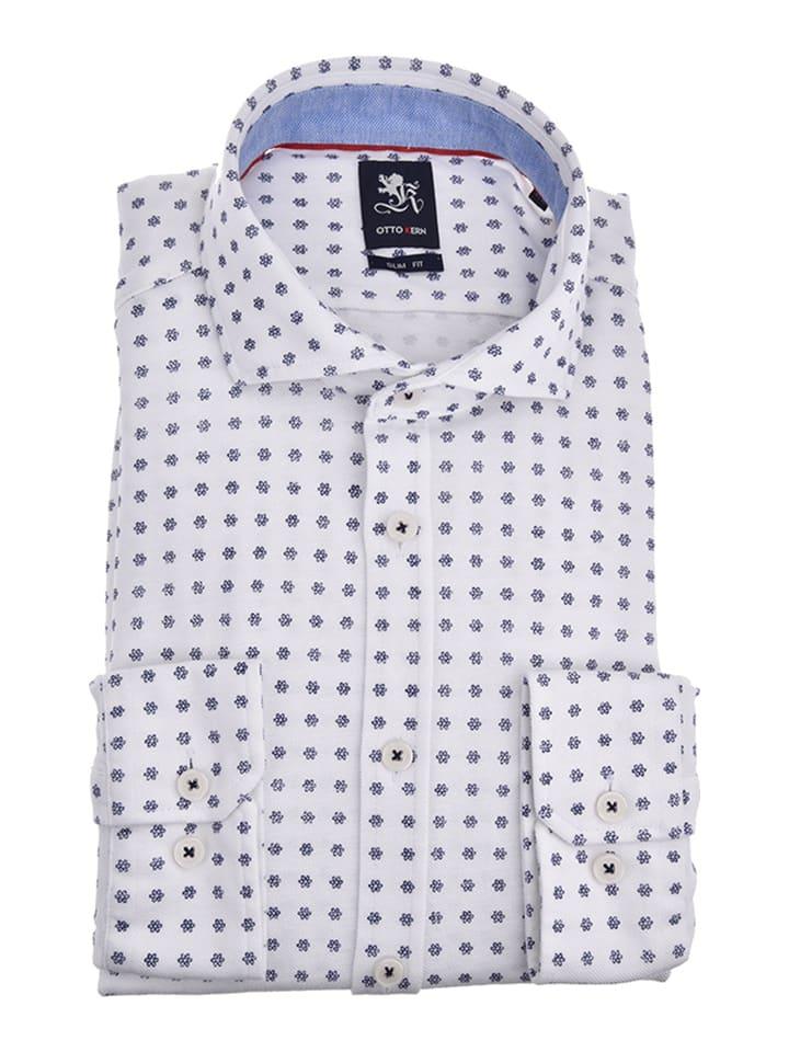 Otto Kern Hemd - Slim fit - in Weiß