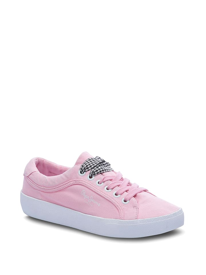 Pepe Jeans Sneakersy w kolorze jasnoróżowym