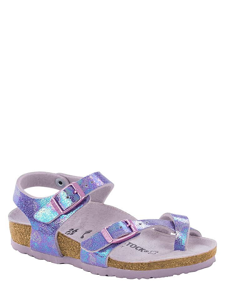 """Birkenstock Teenslippers """"Taormina"""" paars/blauw - wijdte S"""
