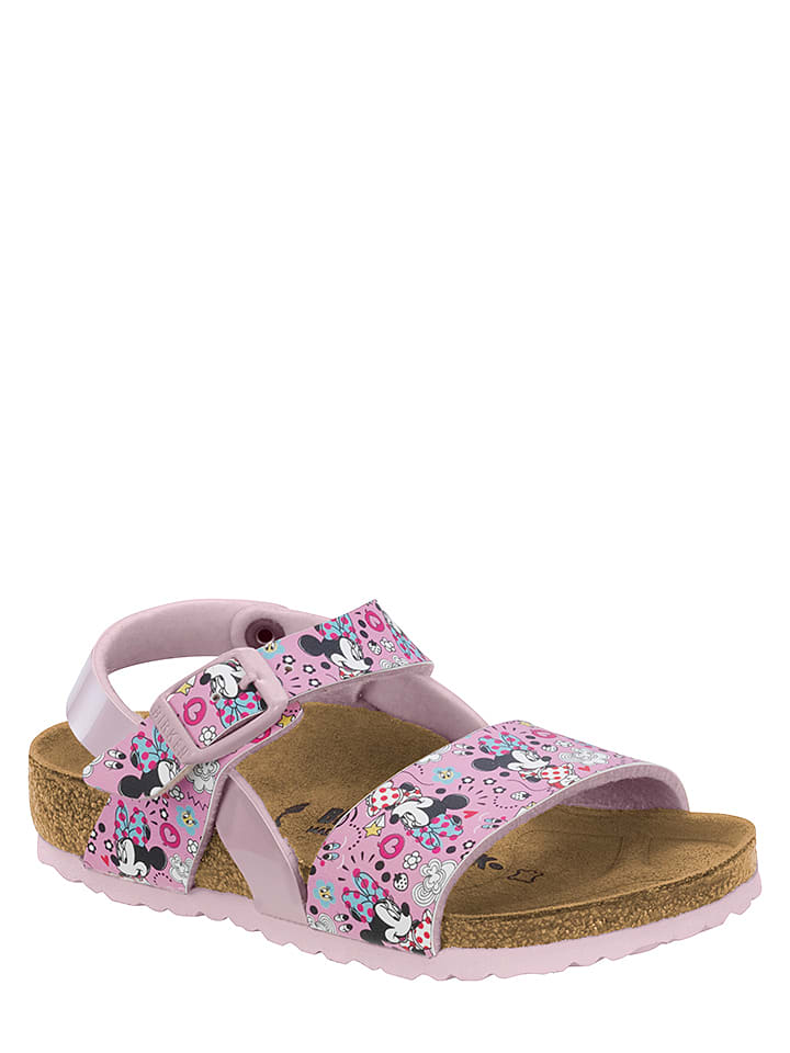 """Birkenstock Sandalen """"Lovely Minnie"""" lichtroze/meerkleurig - wijdte S"""